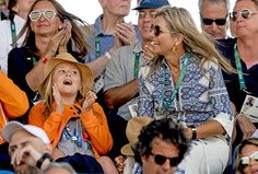The Dutch Royals attend the Equestrian Jumping individual final