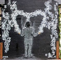 Images of Nick Walker's stencil art at the Quin Hotel and on the streets of Manhattan Amazing Street Art, Awesome Art, Italy Street, Graffiti Painting, Nick Walker, Popular Art, Stencil Art, Street Art Graffiti, Outdoor Art