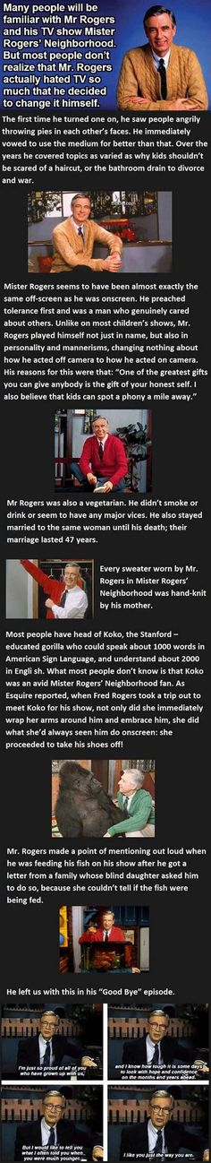 The awesomeness that was Mister Rogers