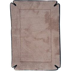 K Pet Products Memory Foam Crate Pad, Mocha, 20 inch x 25 inch, Brown