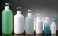 BOSTON ROUND PLASTIC BOTTLES - HDPE BOTTLES