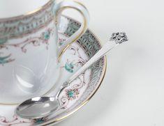 ONE Vintage Sterling Silver Spoon Anitra Teaspoon Rococo | Etsy