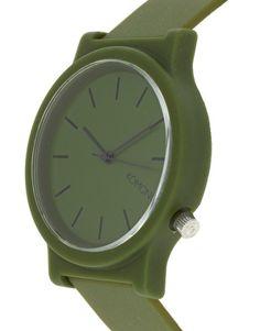 Komono Watch With Plastic Strap  #komonowatch #ladieswatch #menswatch For more designs, check out www.urbantrait.com