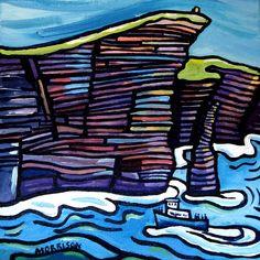 Sea | phillip morrison.  Irish artist.