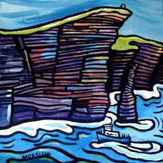 Sea | phillip morrison.  Irish artist.