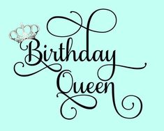 Excited to share this item from my #etsy shop: Birthday Queen Crown SVG