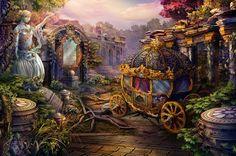 Dark Parables: The Final Cinderella - Video Game Art #BigFish
