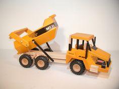 DREWA Moxy Großbaustellendumper 3-Achs Sondermodell aus Holz