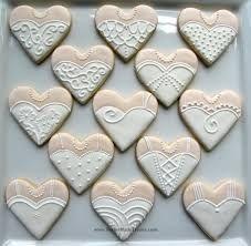 wedding dress cookies - Google Search