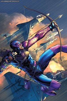 Hawkeye by Brandon Peterson