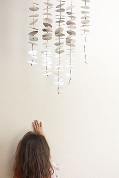 Swoon!: Made at home: Anthropologie inspired paper mobile