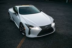 """Why the Lexus LC500 Is the Perfect Halo Car   A lesson in how to influence buyers.  The horns won't stop honking.  It's not because I'm driving like a turd. Nearly every time I get to a light the car next to me honks gently to get my attention. The driver of that car is smiling and enthusiastically giving the thumbs up. Sometimes they gesture that they want me to roll the window down. Most of the conversations go something like this:  """"That car is gorgeous. What is it?""""  """"Right? Lexus…"""