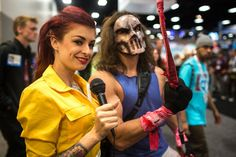 April O'Neil and Casey Jones at SDCC 2013 by Tested.com