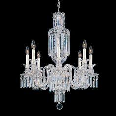 Fairfax 8 Light Crystal Chandelier
