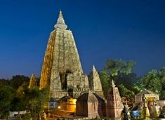 Mahabodhi Temple at Bodh Gaya is located in Bihar. In Bodh Gaya is one of the famous four holiest places of Buddhism. Mohabodhi Temple is also known as Buddhist temple in Bodh Gaya.
