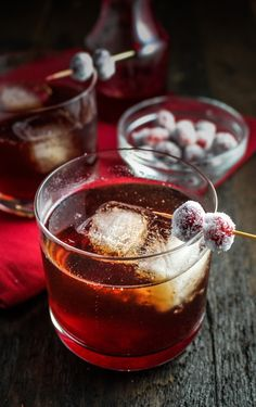 Cranberry-Ginger Sparkling Rum Cider #CaptainsTable #Thanksgiving {Katie at the Kitchen Door}
