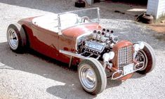 """Beauty"" An authentic mid build. A 1931 roadster powered by an Olds rocket & on a Z'd 32 frame. Classic Hot Rod, Classic Cars, Traditional Hot Rod, Hot Rod Trucks, Retro Futuristic, S Car, Street Rods, The Good Old Days, Hot Cars"