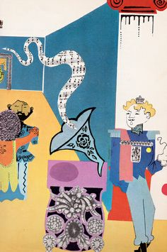 Cinderella retold in story and collage by Alan Suddon (1969).