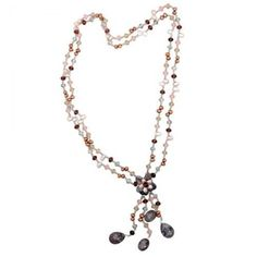 Charming Freshwater Cultured Pearl Necklace