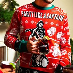 11a41c5937 Captain Morgan Ugly Christmas Sweater