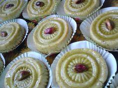 Domes de Pistache - Algerian pistachio sweets.