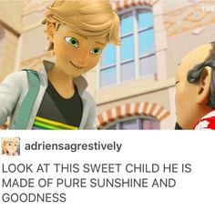 ADRIEN AGRESTE: THE LOVE OF MY LIFE