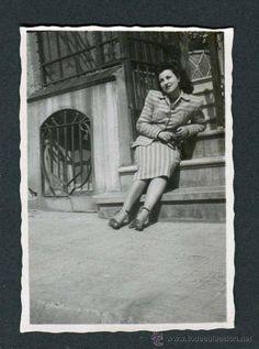 Montcada y Reixac. Joven. 10/4/1947 (Fotografía Antigua - Gelatinobromuro)