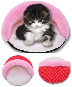 Pet Bed Covers pet bed cover replacement Dog Cat Puppy Pet Warm Bed Cushion Polka Dot Half Nest Sleeping Cover Bed pet bed cover dogs M *** Remarkable product available now.