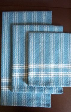 Looking for stripe combos:  handwoven towels - Can't go wrong with classic towels.
