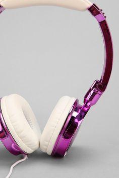LMNT Metallic Headphones #urbanoutfitters