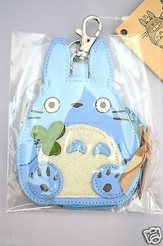 My Neighbor Chu Totoro Die Cut Pouch Mini Coin Purse Studio Ghibli Japan BF