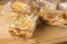 Recipe : How to Freeze Lasagna