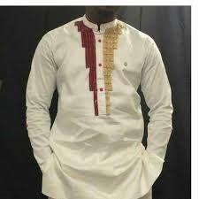 """Résultat de recherche d'images pour """"ensemble pantalon en pagne africain pour homme"""""""