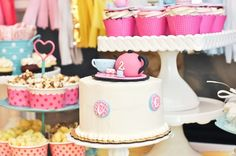 tea party cakes