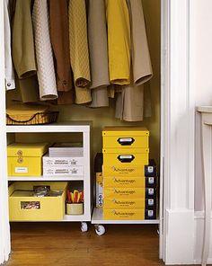 Use the Coat Closet Space