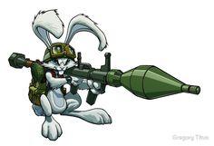 Bazooka Bunny