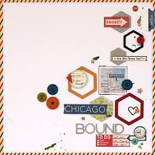 Image result for hexagon scrapbook pages