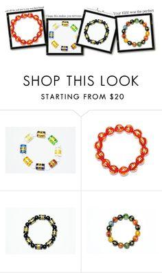 Yoga Wrist Bracelet by baydeals on Polyvore featuring bracelet, malabeads, wristBracelet and handmala  http://stores.ebay.com/mogulgallery
