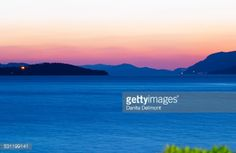 Sunset over the sea. View over the islands Daksa and... #sumartin: Sunset over the sea. View over the islands Daksa and others….… #sumartin