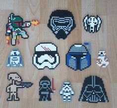 Star Wars characters/Hama perler beads