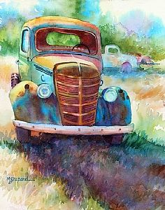 another wonderful watercolor of an old gem, by mary shepard