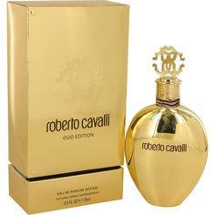 Roberto Cavalli Oud Perfume 2.5 oz Eau De Parfum Intense Spray for Women NIB #RobertoCavalli