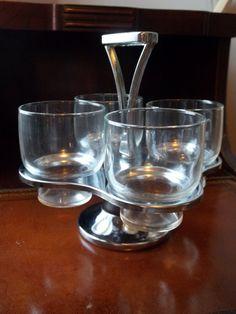Vintage Rotating Drink Holder Barware by TheHoneysuckleTree, $13.00