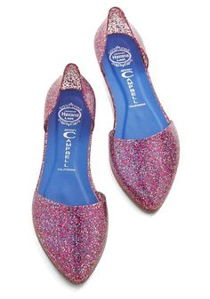 Confetti on the Dance Floor Flat in Pink  50 Sparkly Gifts For the Glitter-Obsessed Girl