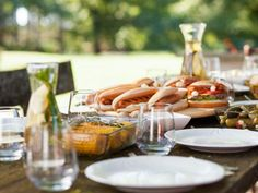No matter where your summer travels take you, backyard barbecue fare is a must. And Food Network's got the best warm-weather dishes that are popular across the country. Food Network Recipes, Cooking Recipes, Drink Recipes, Bread Recipes, Summer Squash Casserole, Smoked Salmon Dip, Sausage Stuffed Zucchini, Tomato Pie, Summer Dishes
