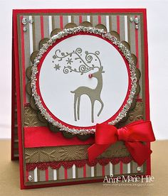 Stampin' Anne: Haul out the Holly for Our Creative Corner