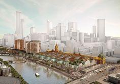 Proposta Finalista para a Renovação da Flinders Street Station / Ashton Raggatt McDougall