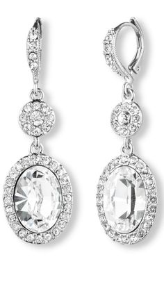 Sparkle & shine on your big day in this gorgeous pair of Givenchy earrings.