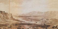 Η Πύλη του Αδριανού και ο ναός του Ολυμπίου Διός από τον λόφο του Φιλοπάππου. Στα αριστερά η Ακρόπολη. Σεπτέμβριος-Οκτώβριος 1810. - HAYGARTH, William - ME TO BΛΕΜΜΑ ΤΩΝ ΠΕΡΙΗΓΗΤΩΝ - Τόποι - Μνημεία - Άνθρωποι - Νοτιοανατολική Ευρώπη - Ανατολική Μεσόγειος - Ελλάδα - Μικρά Ασία - Νότιος Ιταλία, 15ος - 20ός αιώνας