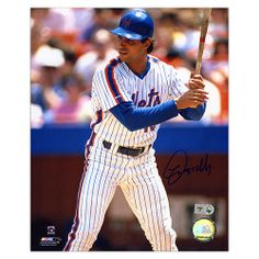 Mounted Memories New York Mets Lee Mazzilli Autographed 8x10 Batting Photo - MLB.com Shop